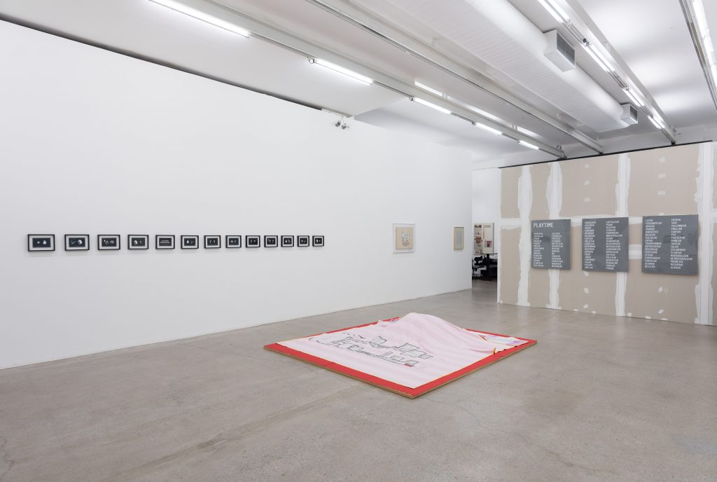 'Homo Ludens' Installation view at Galeria Luisa Strina, curated by Ricardo Sardenberg. Courtesy Galeria Luisa Strina. Photography Edouard Fraipont.