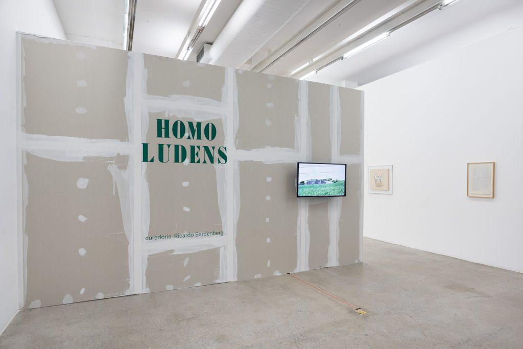 'Homo Ludens' Installation view at Galeria Luisa Strina, curate by Ricardo Sardenberg. Courtesy Galeria Luisa Strina. Photography Edouard Fraipont.