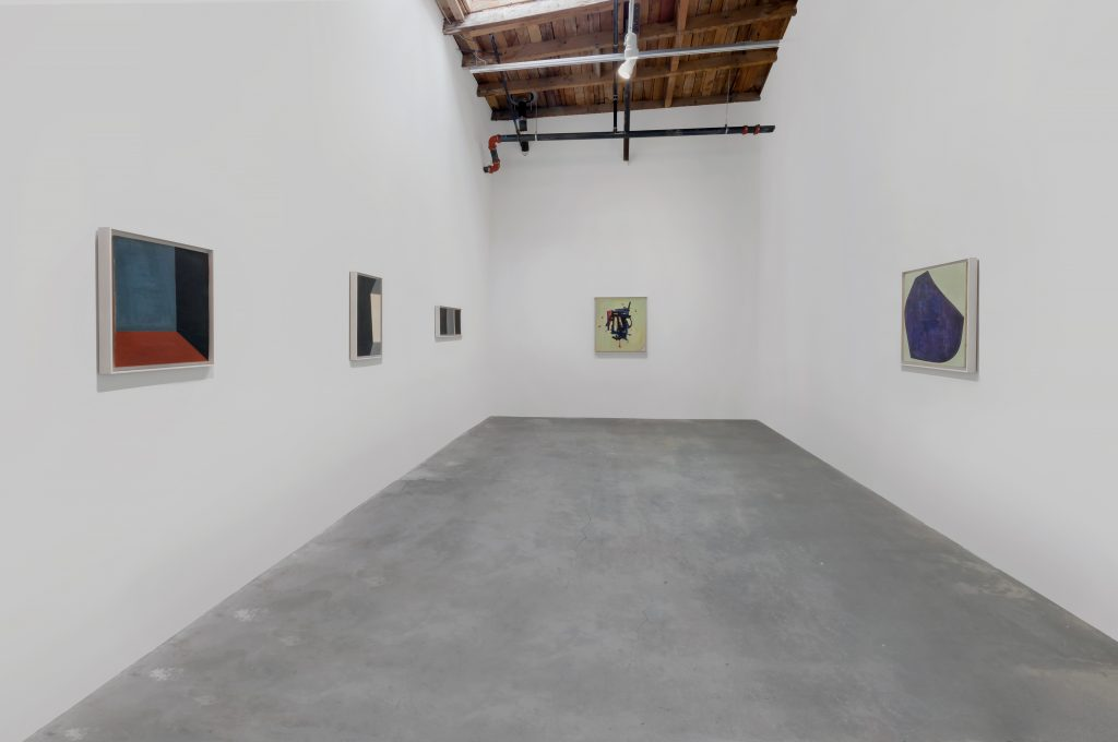 Installation view, 'Maria Lassnig. A Painting Survey, 1950 – 2007' Hauser Wirth & Schimmel, 2016. Photo: JR Doty © Maria Lassnig Foundation Courtesy Hauser & Wirth