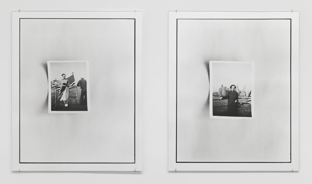 Zoe Leonard  New York Harbor I 2016 Two gelatin silver prints 53 3.4 x 43.5 cm each / 21 x 17 1/8 in each. © The artist Courtesy Hauser & Wirth
