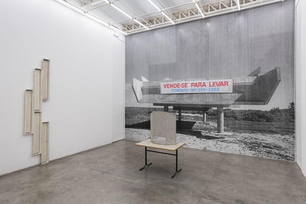Marcelo Cidade 'Nulo ou em Branco' Installation view. Courtesy Vermelho. Photography Edouard Fraipont.