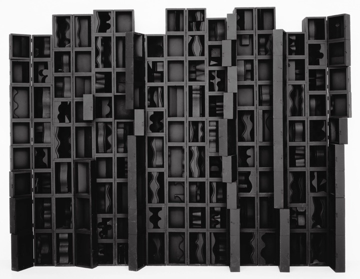 Artwork © 2016 Estate of Louise Nevelson / Artists Rights Society (ARS), New York. Courtesy Pace Gallery.