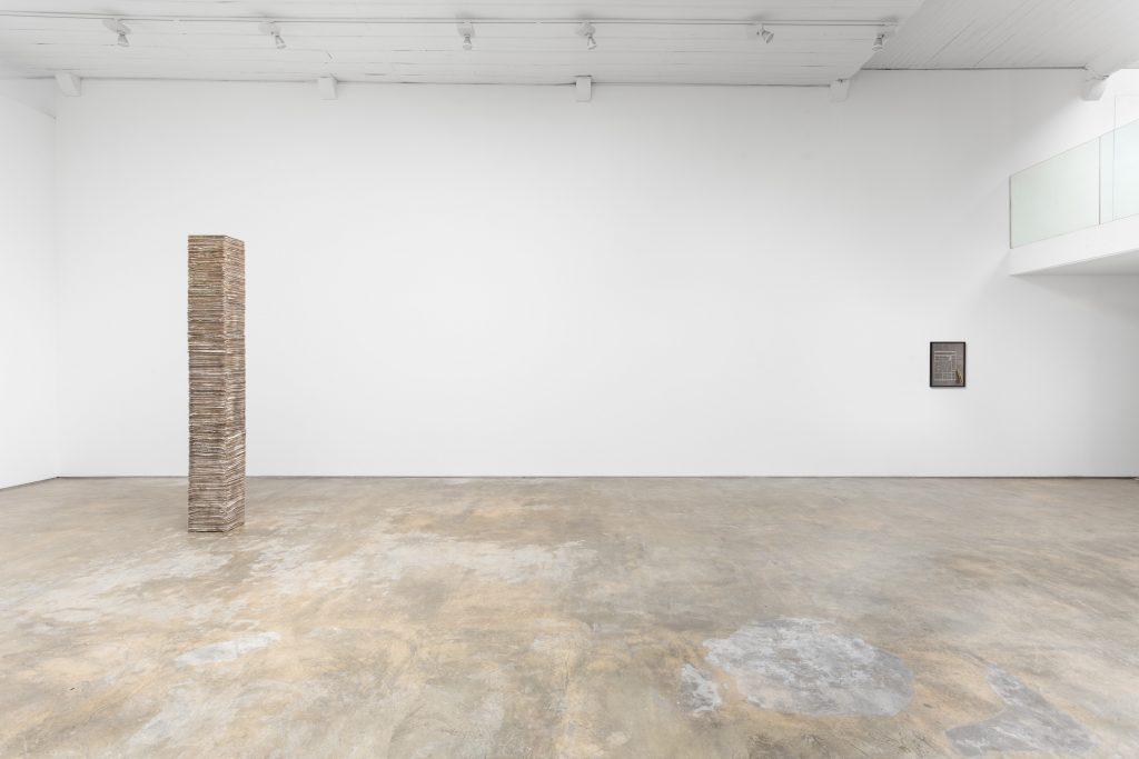 Nuno Nunes-Ferreira '1440 Minutos' Installation view at Baginski Galeria. Courtesy Baginski Galeria.