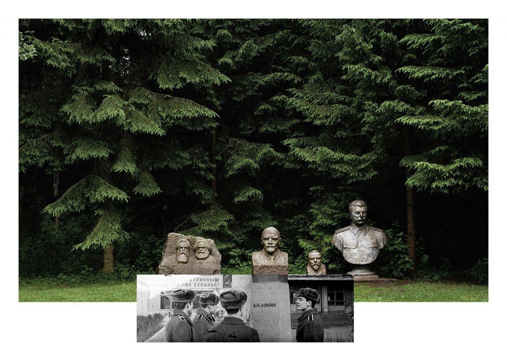 Indrė Šerpytytė, Pedestal, Cadets, 2016 Ink on vinyl and dibond, 134 × 194 cm © Indrė Šerpytytė 2016. Courtesy Parafin, London