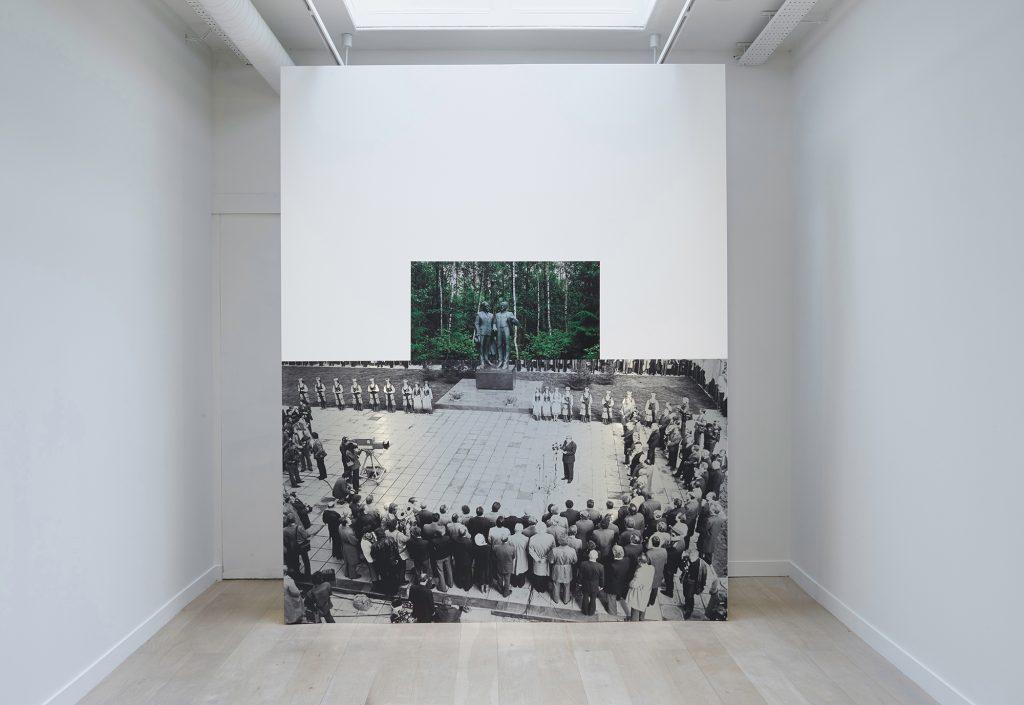 Indrė Šerpytytė, 'Pedestal' Installation view, Parafin. Courtesy Parafin.