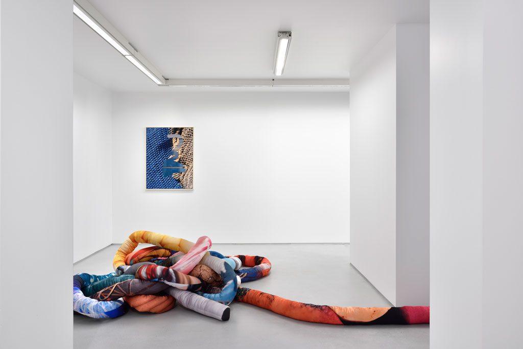 Kate Steciw Solo show exhibition views. Courtesy the artist and Galerie Christophe Gaillard. Photos : Rebecca Fanuele.