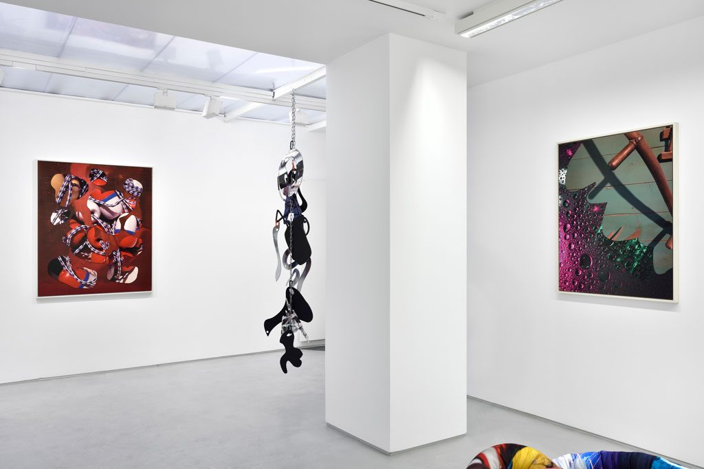 Kate Steciw Solo show exhibition views. Courtesy the artist and Galerie Christophe Gaillard. Photos: Rebecca Fanuele.
