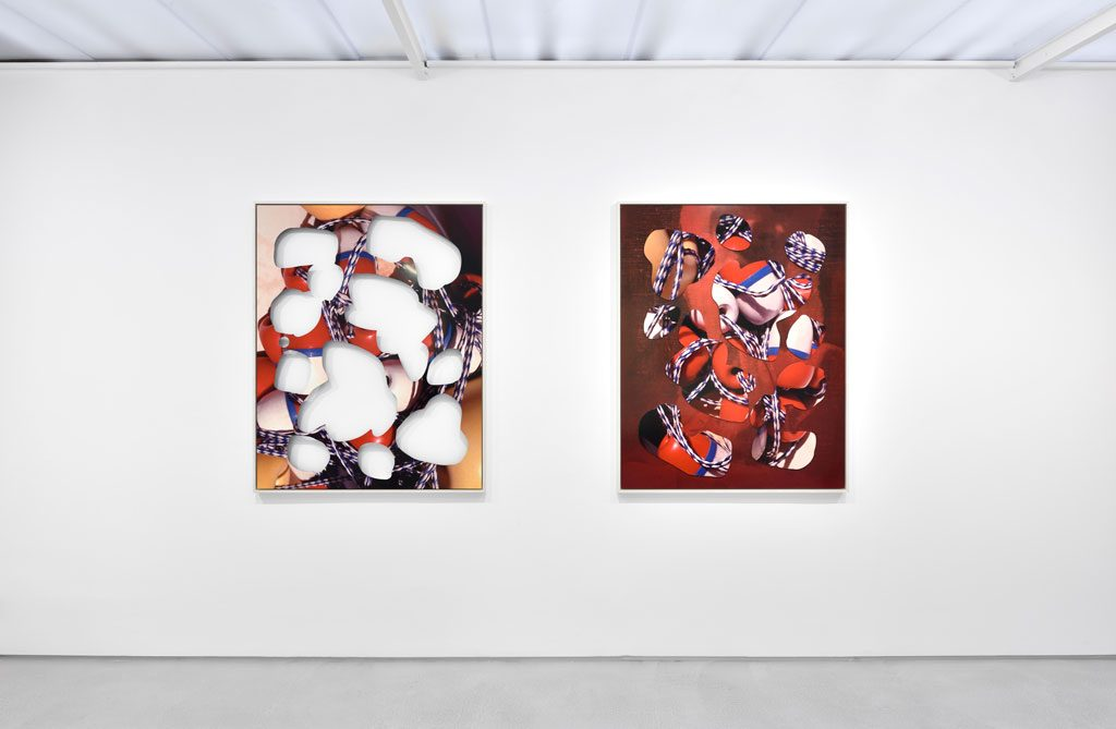 Kate Steciw Solo show exhibition views. Courtesy the artist and Galerie Christophe Gaillard. Photos: Rebecca Fanuele.