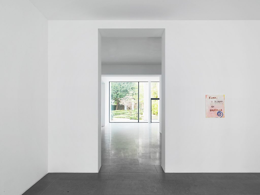 Walter Swennen, 'HIC HAEC HOC' Installation view at Xavier Hufkens, Brussels. Courtesy the Artist and Xavier Hufkens, Brussels. Photography Allard Bovenberg, Amsterdam