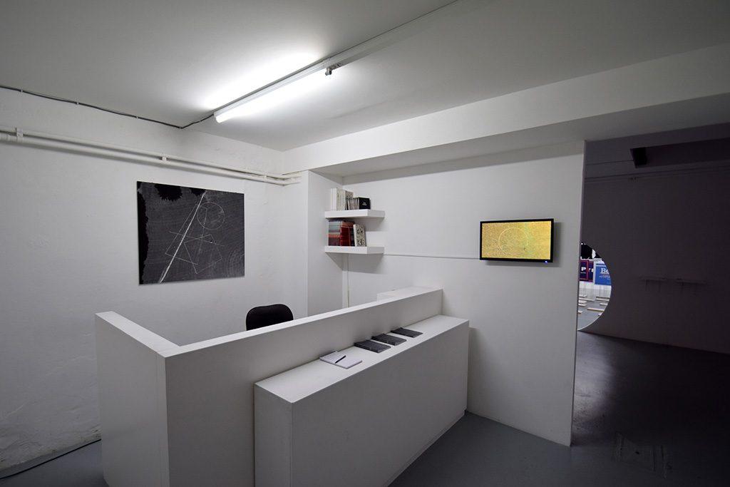 Jeroen Jongeleen, 'Running a Circle Clockwise', 2015, Installation view at Harlan Levey Projects. Courtesy Harlan Levey Projects.