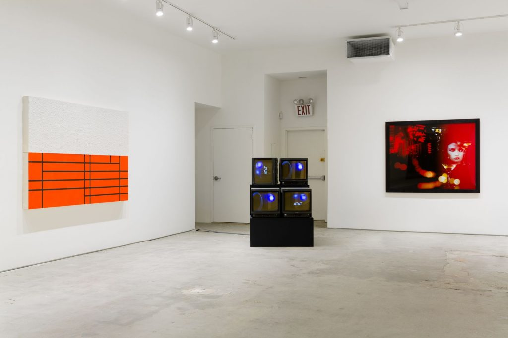 Every Future Has A Price: 30 Years After Infotainment, installation view, Elizabeth Dee, New York. Courtesy of Elizabeth Dee Gallery.