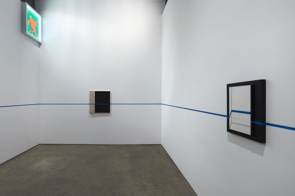 Installation view 'Implosion 20'. Courtesy Anton Kern Gallery, photography Thomas Müller
