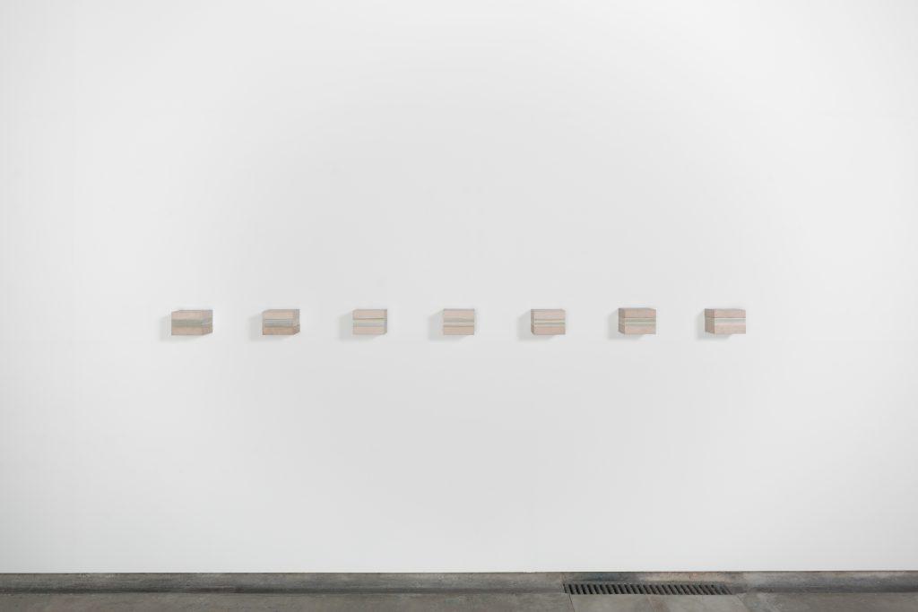 Fernanda Fragateiro, 'TIMEFALLS. Reinvention of tradition'Installation view Galeria Baginski. Courtesy Galeria Baginski.