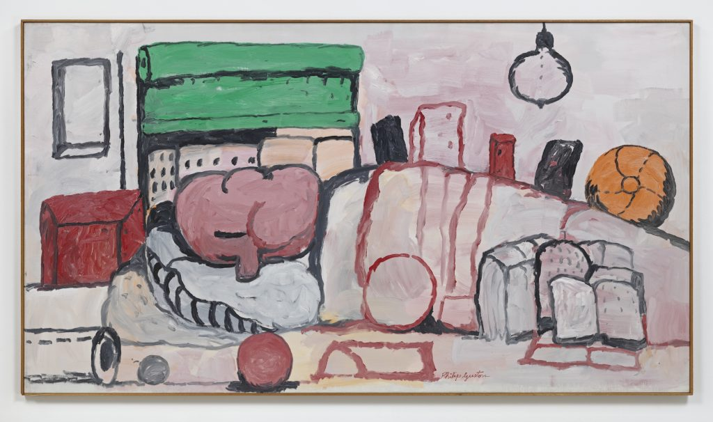 Philip Guston 'Alone', 1971 Oil on canvas, 132.1 x 237.5 cm / 52 x 93 1/2 in. © The Estate of Philip Guston. Courtesy Hauser & Wirth