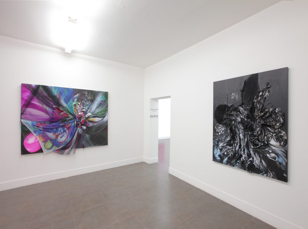 Shinique Smith 'Black Swan' Installation view at Brand New Gallery. Courtesy Brand New Gallery.