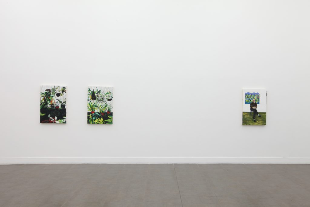 Raffi Kalenderian 'Green River' Installation view at Brand New Gallery. Courtesy Brand New Gallery.