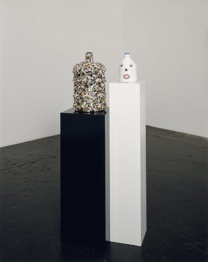 Mike Kelley 'Balanced by Mass and Personification', 2001 Mixed media, 153.7 x 63.5 x 38.1 cm / 60 1/2 x 25 x 15 in Art © Mike Kelley Foundation for the Arts. All Rights Reserved / Licensed by VAGA, New York, NY Collection of Margaret and Daniel S. Loeb Courtesy the Foundation and Hauser & Wirth Photo: Nic Tenwiggenhorn, Düsseldorf