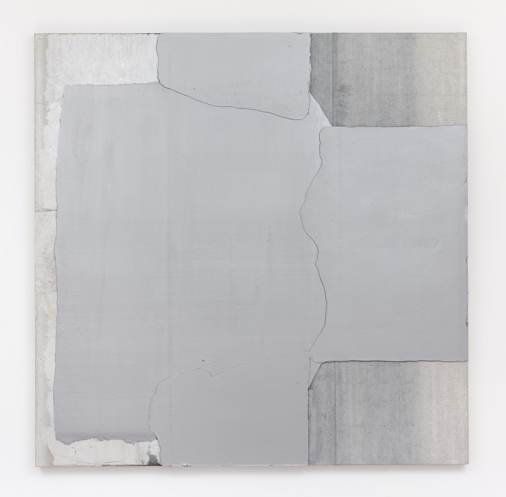 LIU WEI Ag No. 10, 2016 oil on canvas 86.61 x 86.61 x 3 inches 220 x 220 x 7.6 cm Courtesy the artist and Lehmann Maupin, New York and Hong Kong Photo: Max Yawney.