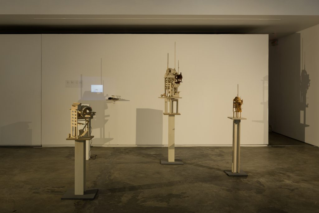 'TIMEFALLS. Reinvention of tradition'Installation view Galeria Baginski. Courtesy Galeria Baginski.