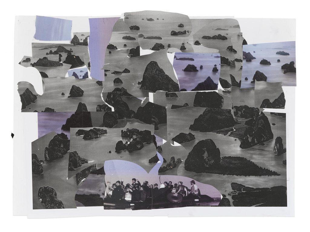 Erik Van Lieshout, Untitled, 2015 Collage, 17.12 x 23.22 in (43.5 x 59 cm) (paper). Courtesy Anton Kern Gallery.