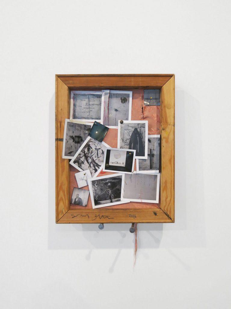 Saul Fletcher, Untitled, 2016 Mixed media, 19 1/2 x 15 1/4 inches, (49.53 x 38.74 cm). Courtesy Anton Kern Gallery.