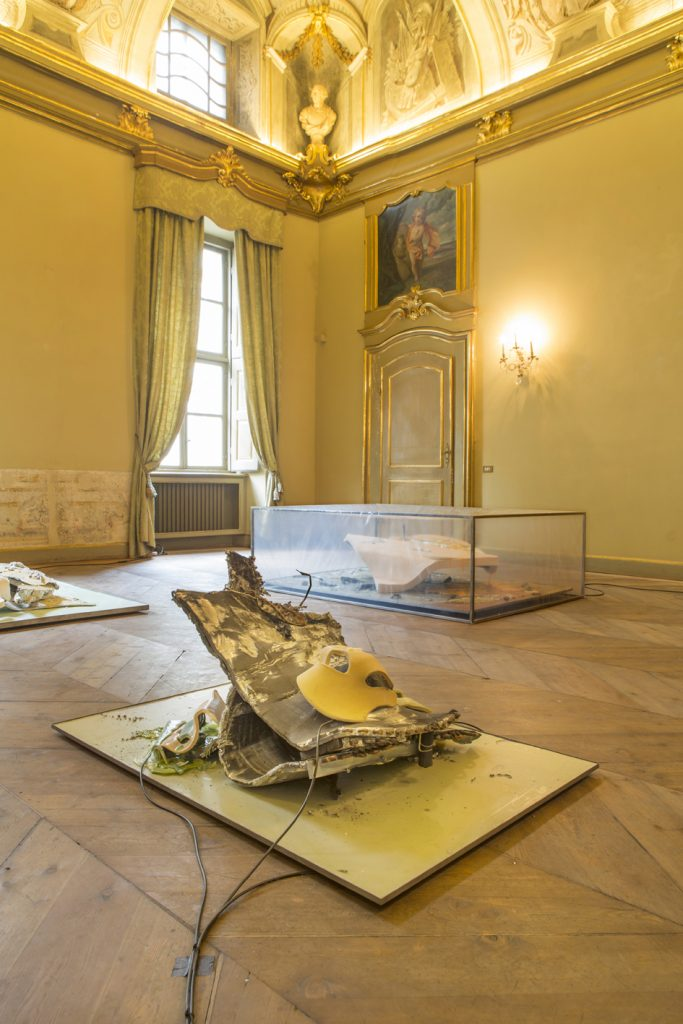 Cinnnamon, Isabelle Andriessen / Johanne Hestvold, Installation view at DAMA. Courtesy of DAMA, Turin.