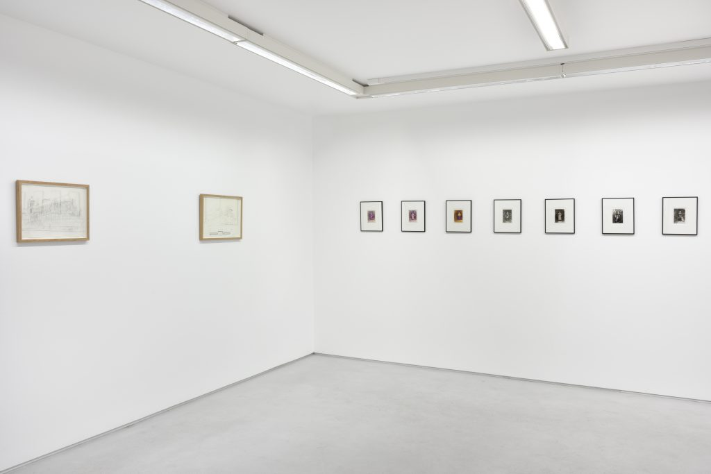 Marcel Bascoulard 'Another World' Installation view. Courtesy Galerie Christophe Gaillard, Paris.