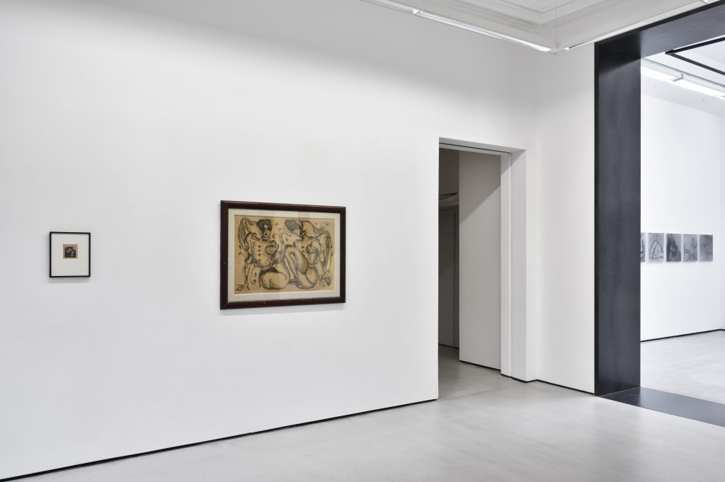 Pierre Molinier 'Photographies et œuvres sur papier' Installation view. Courtesy Galerie Christophe Gaillard, Paris.