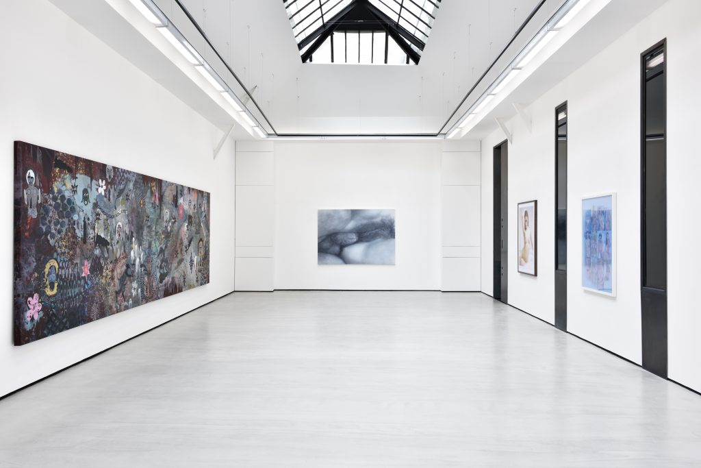 'Sexe au Logis', Installation view. Courtesy Galerie Christophe Gaillard, Paris.