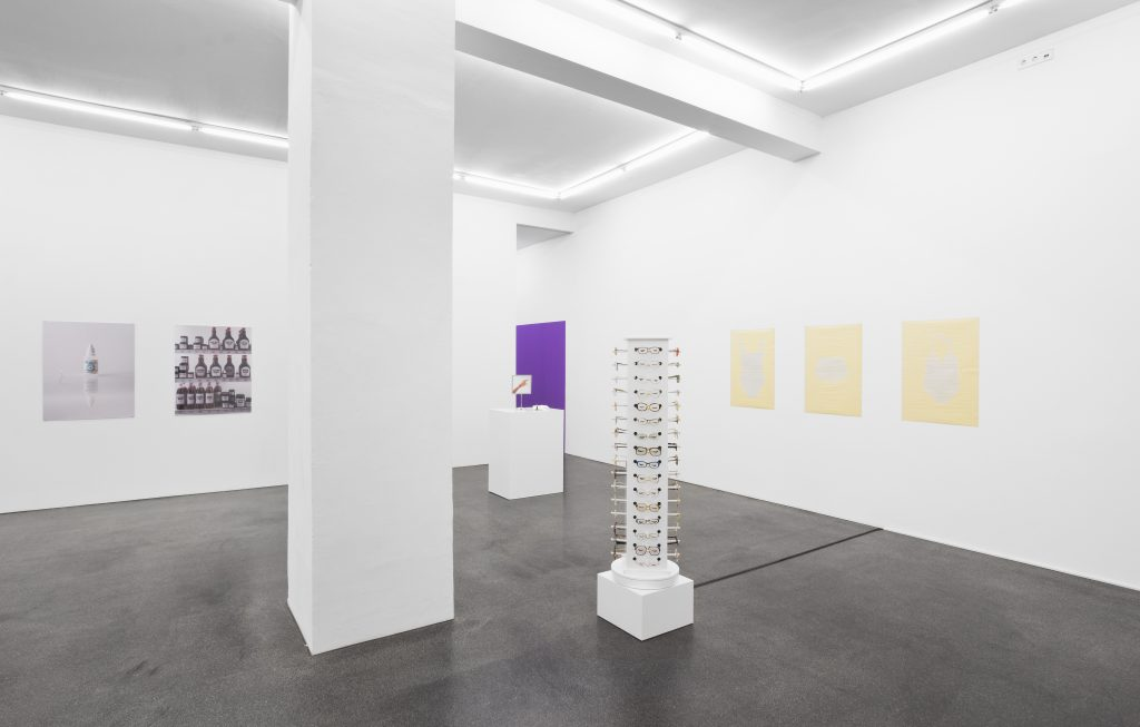 Jamie Isenstein 'Isenstein's' Installation view at Meyer Riegger, Berlin. Courtesy Meyer Riegger Berlin.