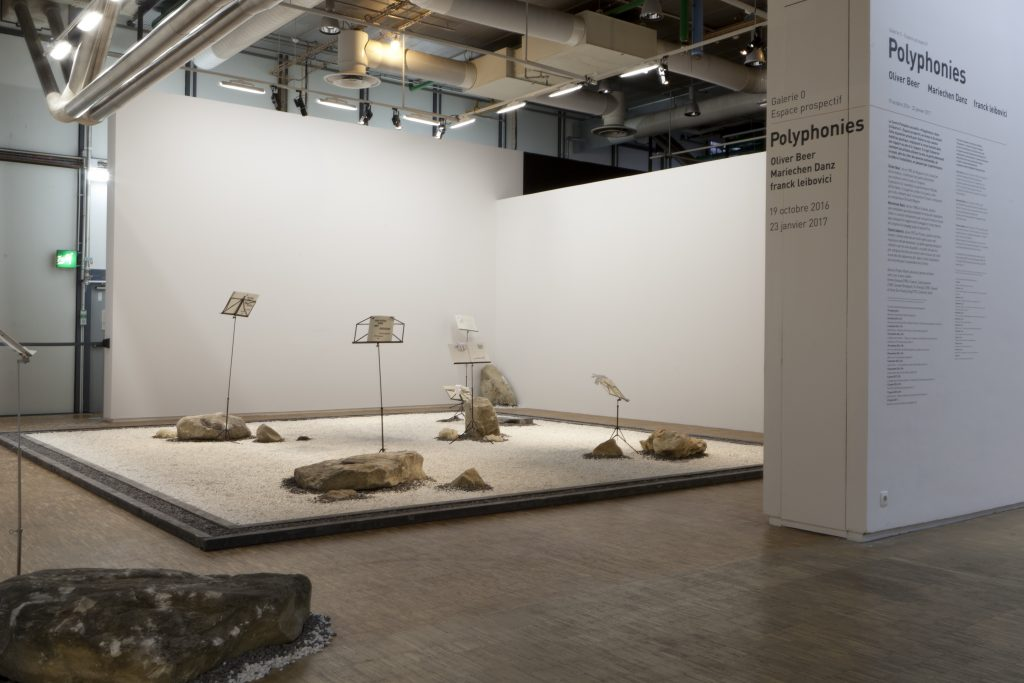 'Polyphonies' Installation view at Centre Pompidou. Courtesy Centre Pompidou.