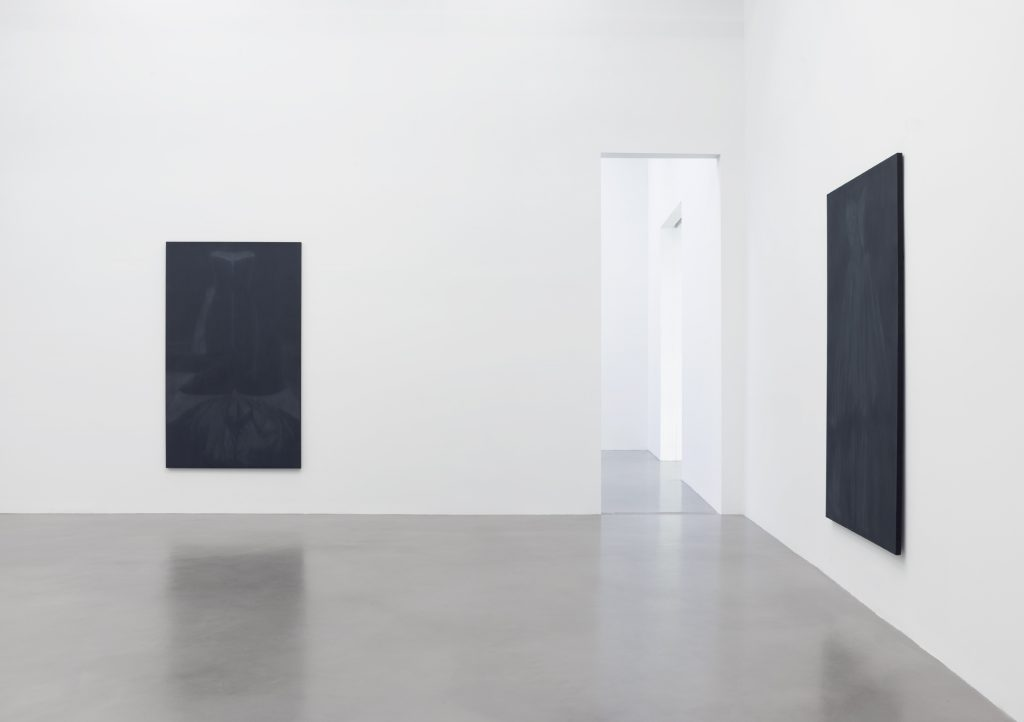 Troy Brauntuch, Installation view, Petzel, 2016. Courtesy of the artist and Petzel, New York.