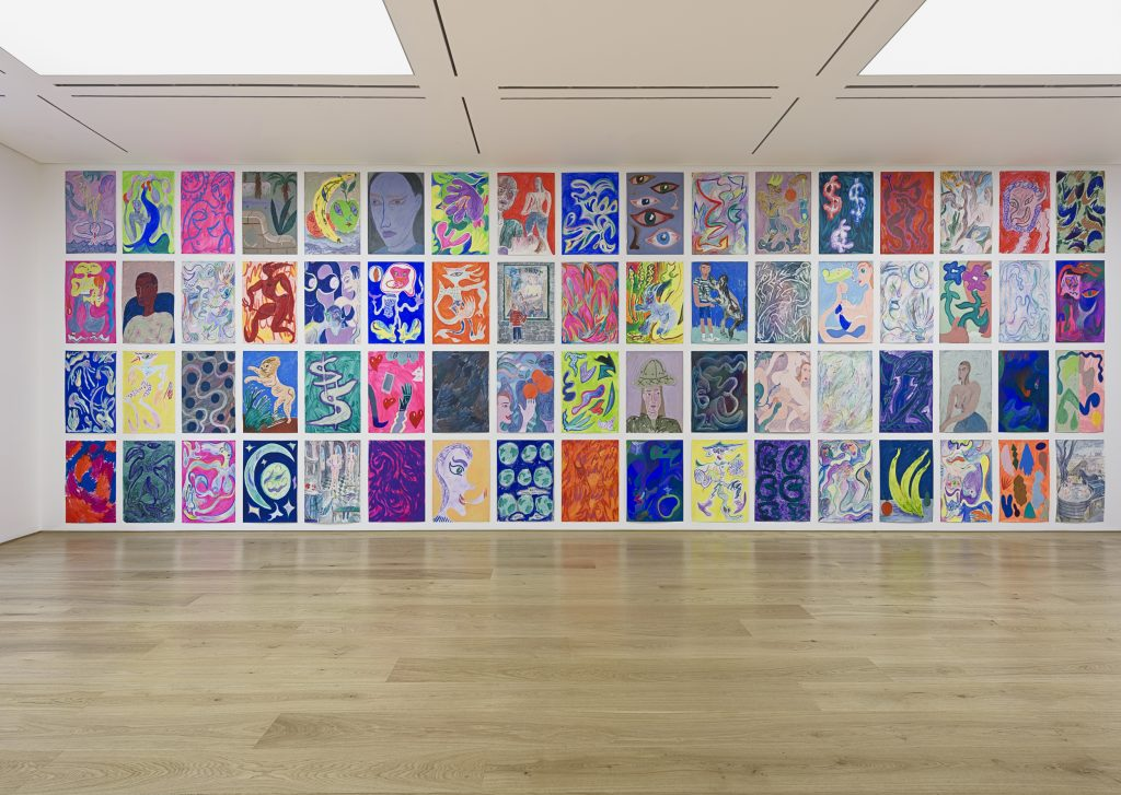 7)Charlie Roberts, Juicy, Exhibition View. Courtesy of the artist and Marlborough Contemporary. Photo Francis Ware.