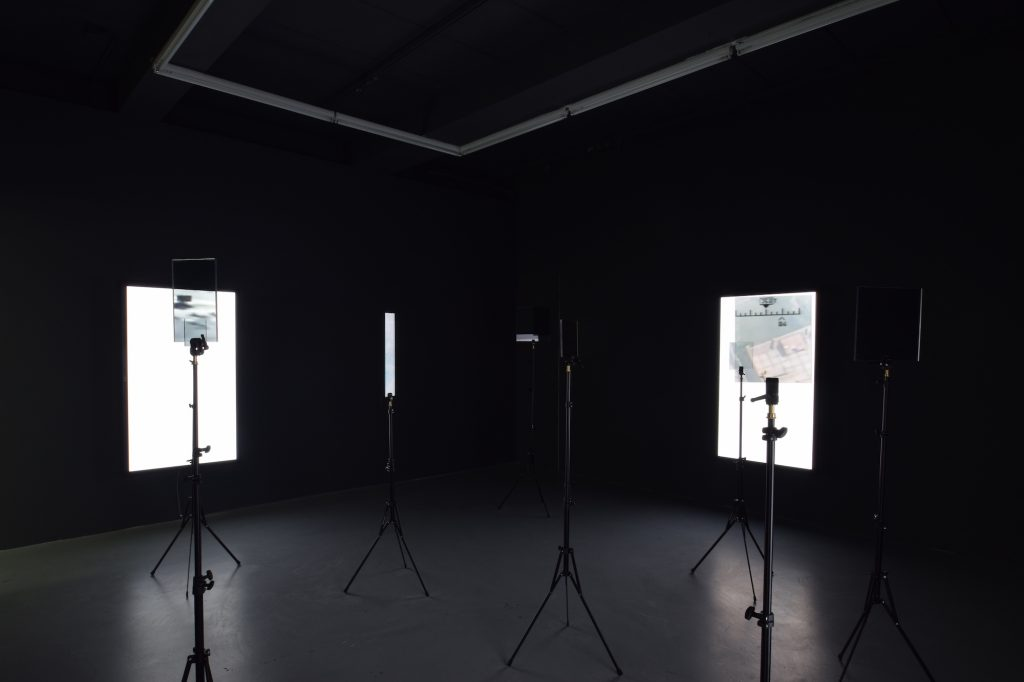 Emmanuel Van der Auwera, 'VideoSculptureXII', Installation view at Harlan Levey Projects. Courtesy Harlan Levey Projects.