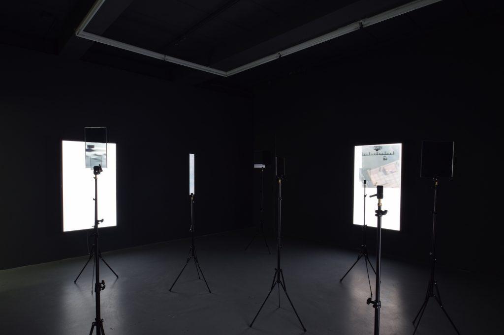 Emmanuel Van der Auwera, 'VideoSculptureXII', Installation view at Harlan Levey Projects. Courtesy Harlan Levey Projects.